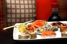 Rio Mix is the perfect sushi place for the lunch breaks (every Monday there is 40% off with ChefsClub card!) :)