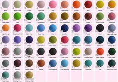 35 Lights   Custom Selection Color  Cotton Ball by YooCotton