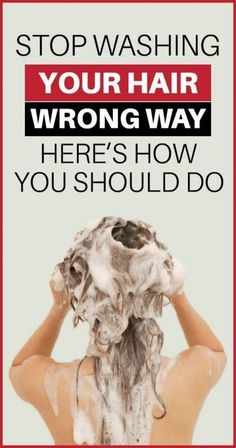 You may be washing your hair every day to keep it clean and nurtured, but you may be doing that completely wrong. Your hair's shine, bounce and health depe Flat Lay Fotografie, Do It Yourself Videos, Shower Filter, Moisturizing Shampoo, Shiny Hair, Natural Oils, Hair Type, Hair Growth, Keep It Cleaner