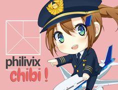 create Japanese Chibi Anime by philivix