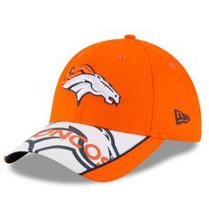 f7b1f67313d Denver Broncos New Era Logo Scramble 9FORTY Adjustable Hat - Orange