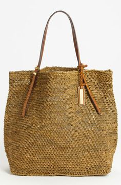 Michael+Kors+'Santorini'+Raffia+Tote+available+at+#Nordstrom
