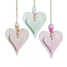 ΚΡΕΜΑΣΤΗ ΓΥΨΙΝΗ ΔΙΠΛΗ ΚΑΡΔΙΑ ΜΕ ΛΕΥΚΟ ΠΟΥΑ ΜΕ ΧΑΝΤΡΕΣ - ΚΩΔ:Z0134-PR Drop Earrings, Jewelry, Jewlery, Bijoux, Schmuck, Drop Earring, Jewerly, Jewels, Jewelery
