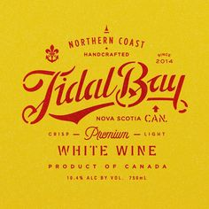 Exploring some wine label options for a client in Nova Scotia