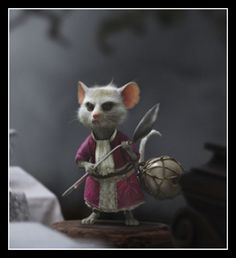 Tim Burton Dormouse Costume Alice in Wonderland