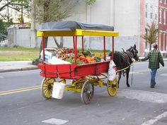 A-rab cart selling produce