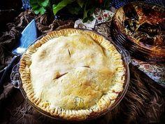 GF Apple Pie for dessert. Apples from Eastern Colorado.  #foodstyling Allyskitchen.com #foodinspiration #foodphotography #pie #foodiesofinstagram
