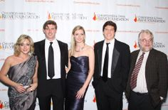 Jane Krakowski, Matthew Reeve, Alexandra Reeve Givens, Will Reeve, and