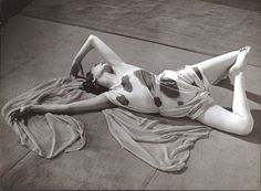 Brassaï, Modernist Study of a Dancer Reclining, ca. 1930