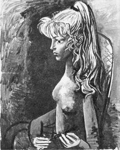 Pablo Picasso, 1954 Portrait de Sylvette David 04