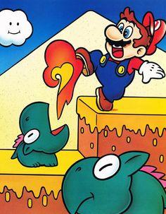 Chocolate Island - Super Mario World 2 Yoshi's Island