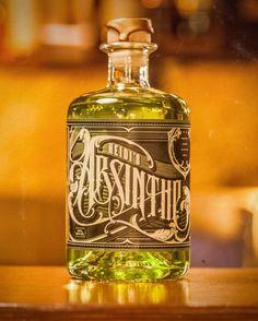 Heidi's Absinthe Verte – MAD HEIDI Store Green Fairy, Natural Herbs, Distillery, Green Colors, Whiskey Bottle, Perfume, Inktober, Gin, Soda