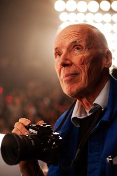 Bill Cunningham photographed in Paris by Scott Schuman [The Sartorialist]