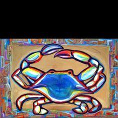 Maryland Crab art