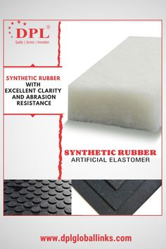 "Excellence is the continuous process for DPL. We are proud to offer quality synthetic rubber. Made of copolymers of Butadiene, DPL synthetic rubber possesses excellent abrasion resistance, great clarity and easy processing. They are recommended for general purpose applications based on automotive industry for tires, door and window profiles, hoses, belts, matting, flooring etc. #DPL #DPLGlobalLinks #Polymers #Chemicals #Additives #Elastomers #Fillers #SyntheticRubber #AutomobileApplications"" Synthetic Rubber, Polymers, Automotive Industry, Clarity, Belts, Purpose, Window, Flooring, Easy"