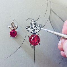 Paris-trained jewelry artist. Custom jewelry designer. Jewelry design and rendering teacher. Painter.