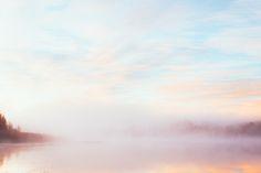 Tidig morgon med dimma på sjön | Rowan Tree Blog | Bloglovin'