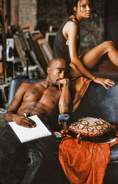 Tupac and Thandie Newton in Gridlock