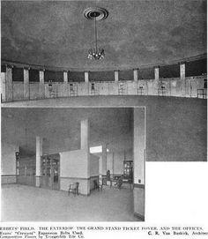 Inside Ebbets Field rotunda