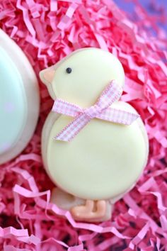 Cute chick cookie