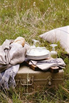 I bet this is how they picnic in Jane Austen times : yes please