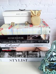 Painting, photography and fashion stylist books