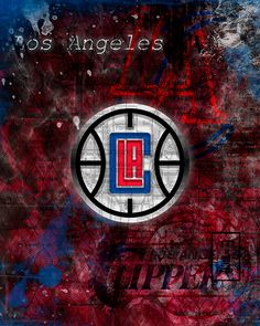 A personal favorite from my Etsy shop https://www.etsy.com/listing/268231894/los-angeles-clippers-poster-la-clippers