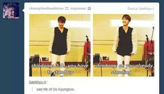 The sad life of Kyungsoo