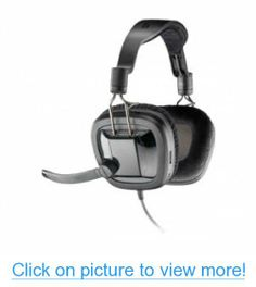 Plantronics GameCom 380 Gaming Stereo Headset - Compatible with PC Best Gaming Headset, Wireless Headphones, Console, Boutique Accessoires, Computer Gadgets, Best Noise Cancelling Headphones, Audio, Logitech, Computer Accessories