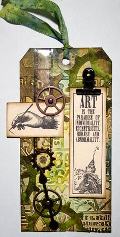 Tim Holtz - 12 Tags of 2013