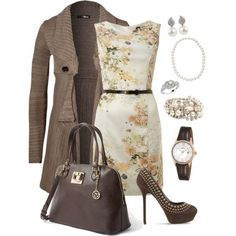 I like all of this except for the shoes (too high/thin heels) and the watch (I have one staple watch I wear just about all the time).