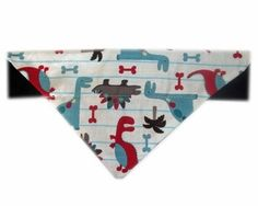 Dinosaur Themed Dog Bandana From £4
