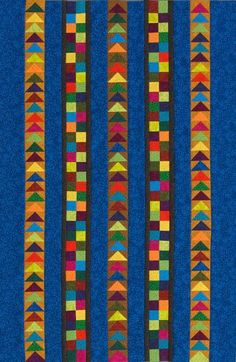 Flying Four-Patch Wall Hanging | AllPeopleQuilt.com