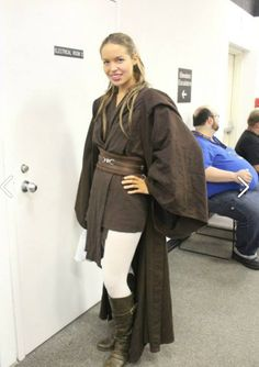 Female Jedi - my costume didn't turn out near as awesome as this