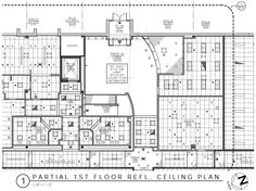 Corporate Interior Reflected Ceiling Plan Ceiling Plan, Ceiling Lights, Construction Drawings, Corporate Interiors, Plan Design, Ceiling Design, Ceilings, Home Interior Design, School Ideas