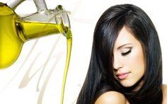 aceite de oliva 10 segundos calentar luego aplicar en el cabello