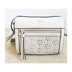 Kate Spade Crossbody Bag Nude with light gold hardware. Approx. 9 x 10 1/2 x 5. Long strap for shoulder or crossbody wear. Last photo shows true color. •No Trades• kate spade Bags Crossbody Bags