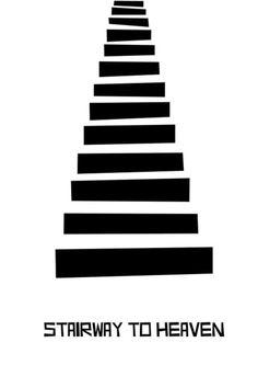 stairway to heaven - minimal art