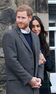 Prince Harry Photos - Prince Harry and Meghan Markle after watching the firing of the One o'clock gun during their visit to Edinburgh Castle on February 2018 in Edinburgh, Scotland. - Prince Harry and Meghan Markle Visit Edinburgh Prince Harry Et Meghan, Meghan Markle Prince Harry, Princess Meghan, Prince Henry, Prince Philip, Prince And Princess, Harry And Meghan, Prinz Harry Meghan Markle, Harry And Megan Markle