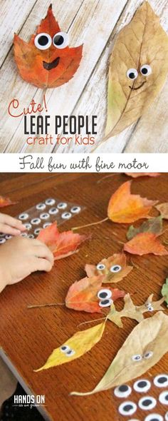 Kids of all ages will love making this leaf people fall craft with real leaves as they build fine motor skills and make memories this fall! . . #ecobynaty #naty #baby #babycare #organic #eco #green #natural #mother #mom #father #dad #environment #child #care #inspire #ecofriendly #parents #Parenting #style #pregnant #design #toddler #little #love #family #homemade #diy #doityourself