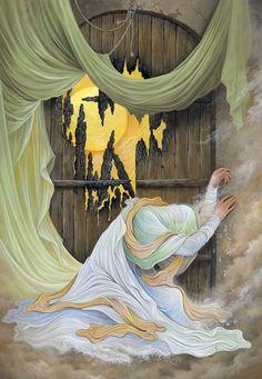 Karbala Pictures, Fatima Zahra, Imam Hussain Wallpapers, Hussain Karbala, Karbala Photography, Baroque Painting, Dance Paintings, Anime Muslim, Islamic Paintings