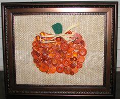 Pumpkin Button Art