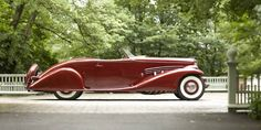 This 1935 Duesenberg SJ Roadster is pure classic style.