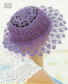 Iguarias em crochet Gabriela: 40 padrões livres capas, boinas, bonés e chapéus para todas as estações