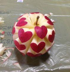 une pomme d'amour