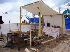 I googled Roman Kitchen and a photo of my field kitchen came up, so here is a replica of a roman field kitchen