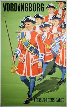 Poster: Vordingborg - Prins Jørgens Garde Artist: