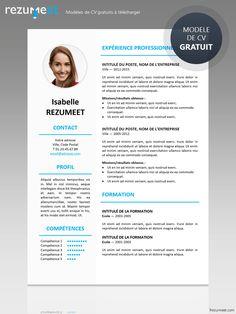 Ikebukuro - Modèle gratuit de CV à télécharger