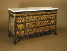 Brooklyn Museum: Decorative Arts: Chest-of-Drawers Herter Brothers, American, 1865-1905