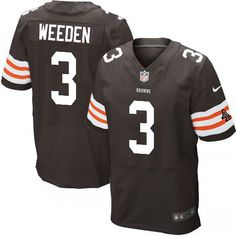 Brandon Weeden Jersey Men's Nike Cleveland Browns #3 Elite Team Color Brown Jersey | Size S, M,L, 2X, 3X, 4X, 5X. At Official Cleveland Browns Shop, you can find one of the largest selections online of Brandon Weeden Jersey Men's Nike Cleveland Browns #3 Elite Team Color Brown Jersey | Size S, M,L, 2X, 3X, 4X, 5X licensed by the NFL.